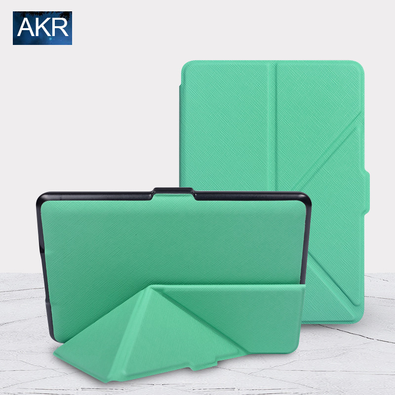 Fashion PU Leather Case for Kindle 8 Gen 2016 Stand Cover Variety Folding Pattern AKR 2017 New Arrival Free Gift Free Shipping gc classic x81007g2s