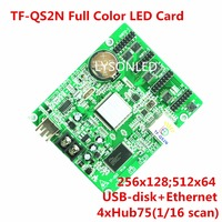 LongGreat TF QS2N 256x128Pixels U Disk Ethernet ASynchronization Full Color LED Control Card U Disk Set