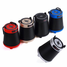 New Portable Bluetooth Speaker Outdoor Wireless speaker 3D Stereo subwoofer MP3 player with string Support USB TF AUX FM цена и фото
