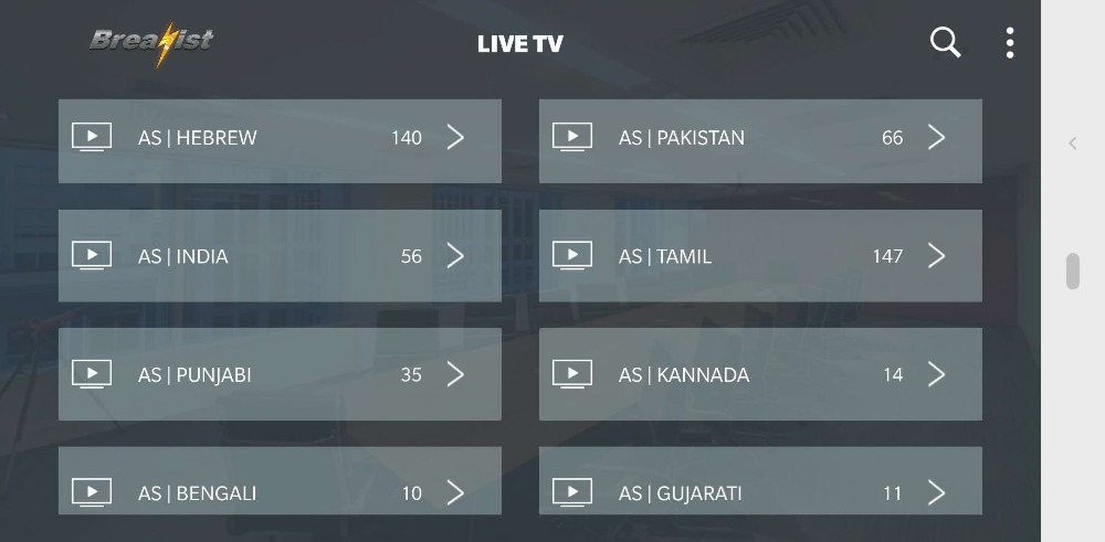 IPTV India Parkistan Bangladesh Indian Hindi Arabic Indian Android TV Box  Tamil Punjabi Kannada Teleg Malayalam M3U for Smart TV