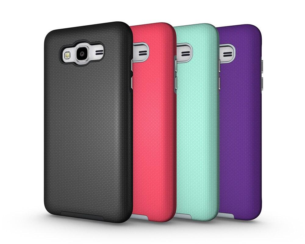 Heavy Duty Non <font><b>Slide</b></font> Armor <font><b>Case</b></font> Shockproof Cover For Samsung Galaxy J3 J5 J7 2016 J710F Hybrid PC+TPU Cover Capa