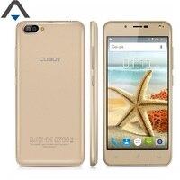 Cubot Original Rainbow 2 3G Quad Core de Smartphones 1 GB de RAM 16 GB ROM Android 7.0 720 P HD 5 polegada 2350 mAh telefone celular dual câmeras
