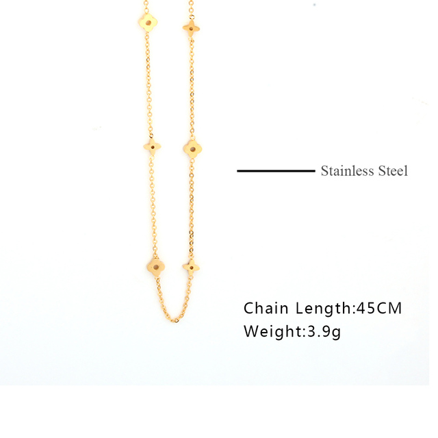 SHE WEIER stainless steel chain collar chocker necklaces & pendants women's clothing accessories bijoux indian jewelry