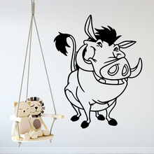 Modern pig Wall Stickers Animal Lover Home Decoration Accessories Nursery Room Decor Waterproof Wallpaper