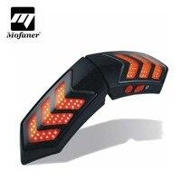12V Wireless Motorcycle Smart Helmet Light LED Lights Safety With Running Lights Brake Lights Waterproof Turn