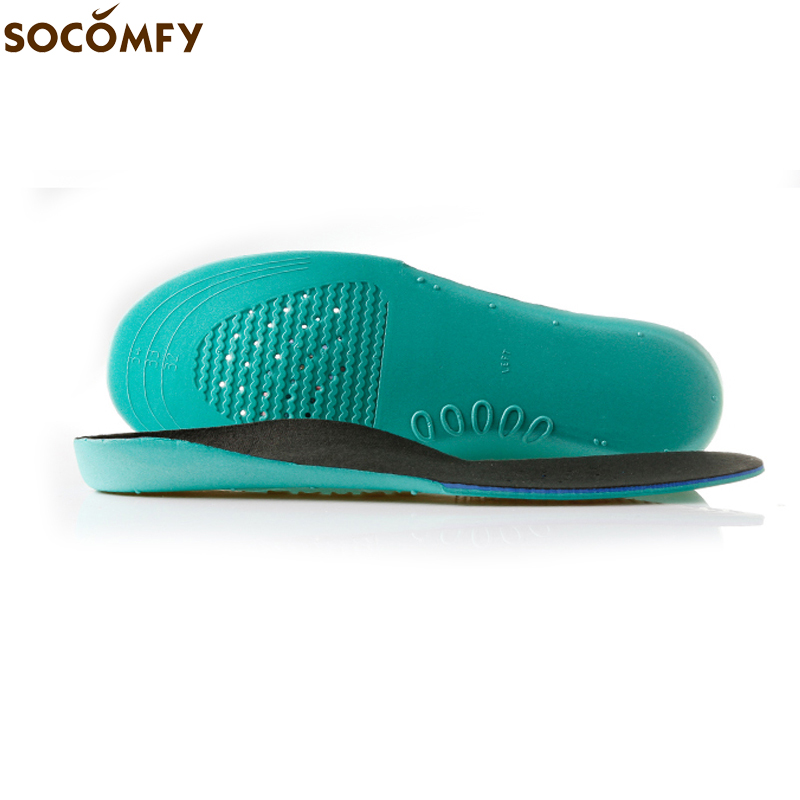 SOCOMFY 4 SIZES EVA Orthopedic Orthotic Arch Support Shoes Insoles Insert Pad For Children Kids With Flat Feet X O Shape Legs 2017 gel 3d support flat feet for women men orthotic insole foot pain arch pad high support premium orthotic gel arch insoles