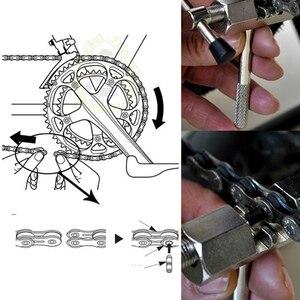 Набор инструментов для ремонта велосипеда MTB дорожные велосипеды Цепь резак кронштейн приспособление для снятия маховика кривошипный ключ гаечный ключ инструменты для обслуживания RR7304