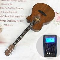 ZONAEL 40 Inch Hot Acoustic Guitar Rosewood Fingerboard Picea Asperata Guitarra Folk Guitar With Five Segment Equilibrium EQ