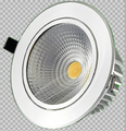Free transporte dimmable 9 w 15 w 20 w cob led downlights inclinável luminária recesso teto lights down lâmpada ac110v/ac220v