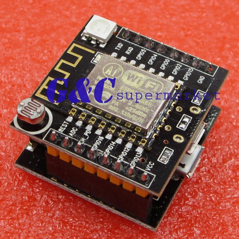 ESP8266 WI-FI Остроумный облачных Развития Доска МИНИ nodemcu ESP-12F модуль Для Arduino