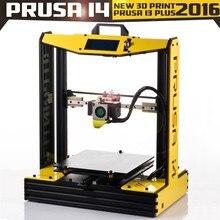 Neue Aluminium big größe Hohe Quatity Präzision Prusa i3 plus i4 3d-drucker kit mit 2 rolls filament + sd-karte für freies