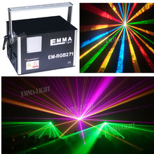 Laser RGB/Lazer Disco / 5W RGB Full Color Disco DJ Laser Show System(China)