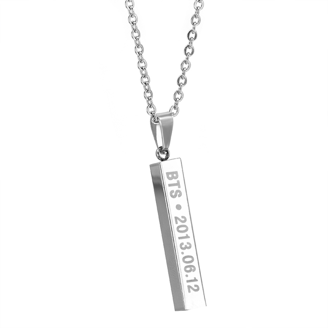 BTS Members Necklaces