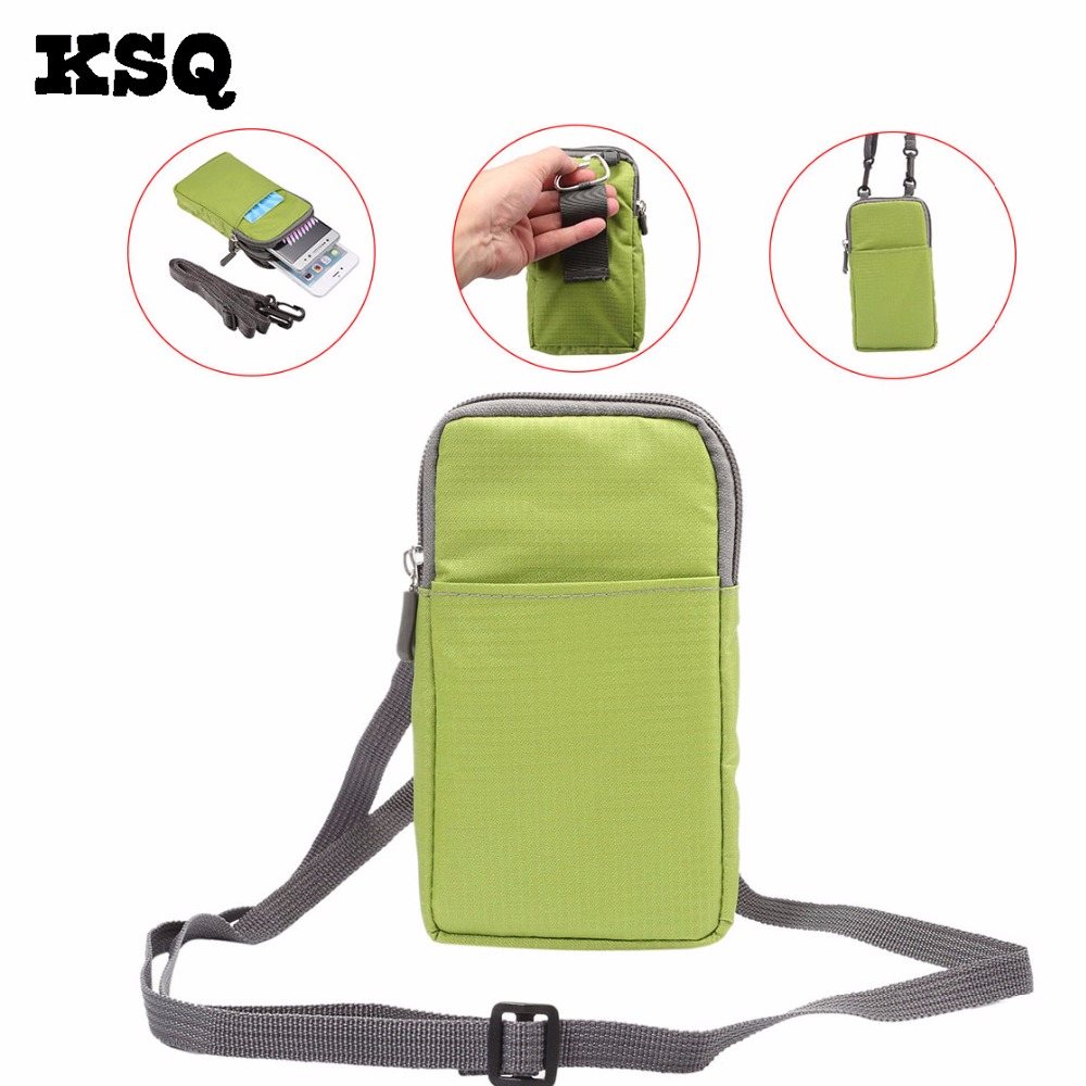 KSQ Wallet Mobile Phone Bag Outdoor Army