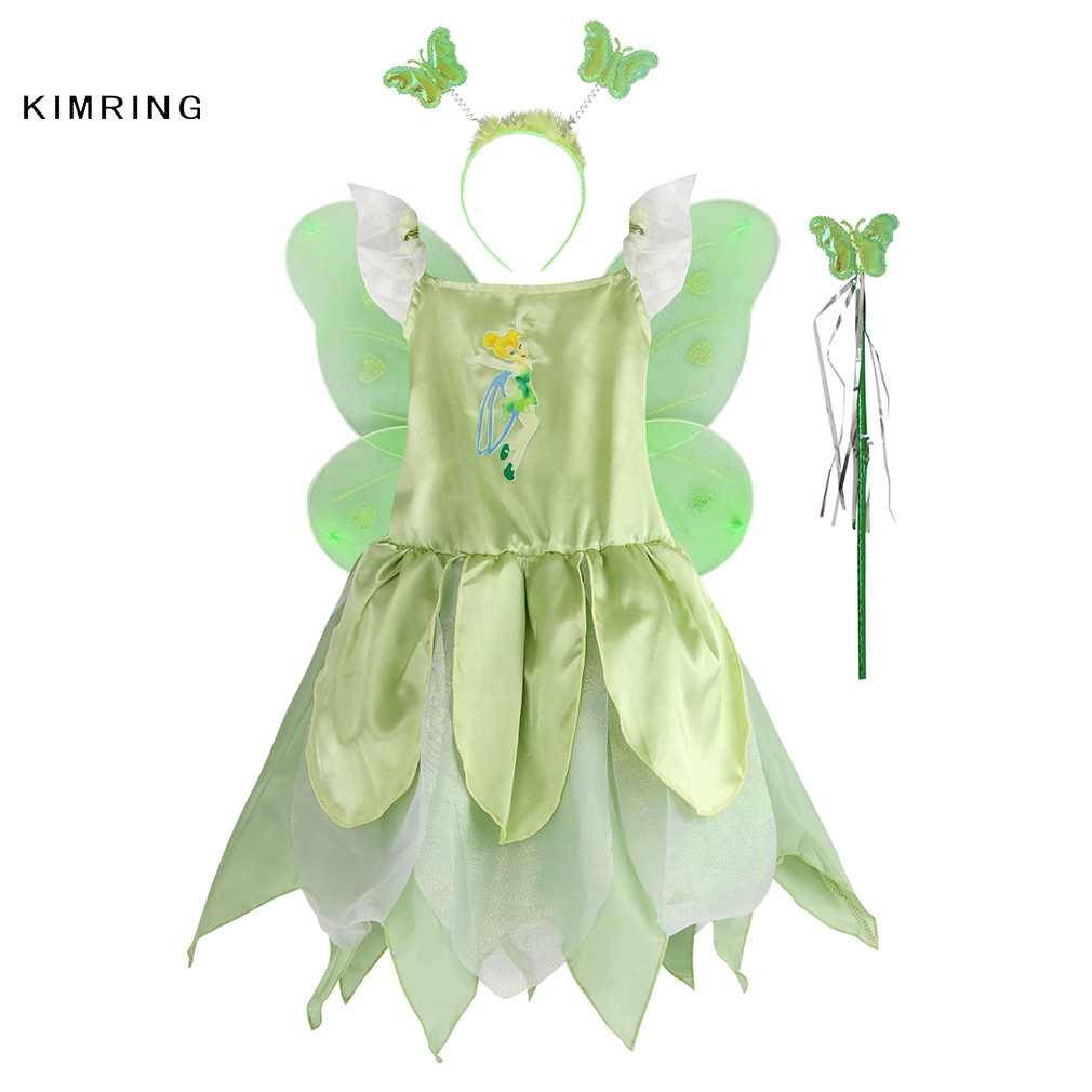 sc 1 st  AliExpress.com & Buy girls tinkerbell costumes and get free shipping on AliExpress.com
