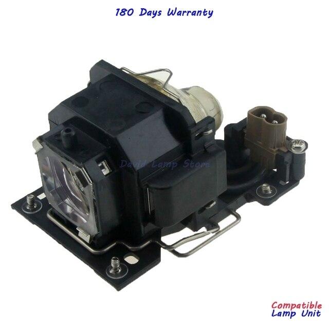 משלוח חינם DT00781 באיכות גבוהה החלפת מנורה עם דיור עבור Hitachi CP RX70 CP X1 CP X2 CP X253 CP X4 ED X20 ED X22