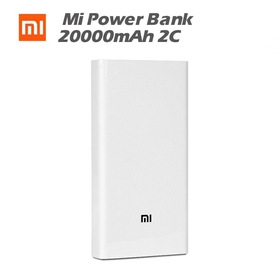 Original Xiaomi Mi Power Bank 20000mAh 2C Two way Quick