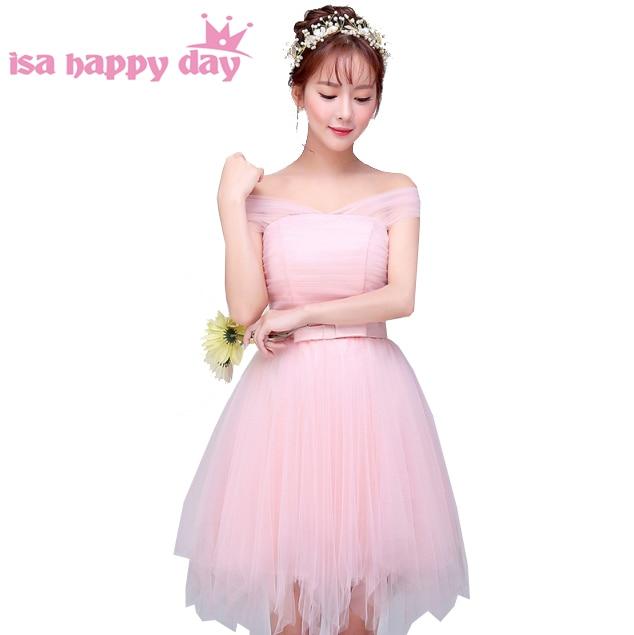 Alta moda luz Rosa bebé convertible elegante vestido mujer Vestido ...