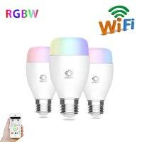 E27 AC100 240V Wifi Smart LED Light Bulb Remote Control RGB Color Lamp Wireless LED Lamp