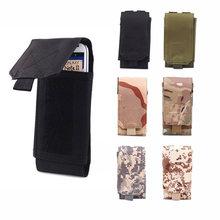 b6c5af1aa585 MOLLE Waist Mobile Phone Bag Belt Pouch Case Cover For HUAWEI Mate 10 9 10  Pro 11 Mate 9 Pro Lite G9 Plus nova3e Y9 Y7 Y6 Y5 Y3