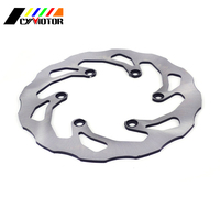 Motorcycle Steel Front Brake Disc For YAMAHA DT200 DT230 97 98 WR200 91 97 TTR250 TTR 250 93 04 YP250 Majesty Skyliner