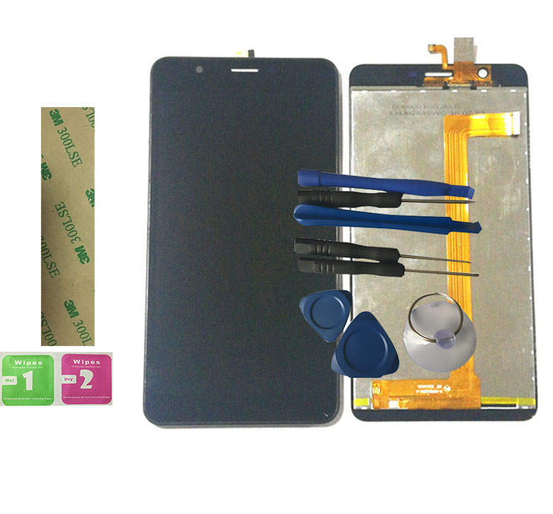 RYKKZ For PB60GGJ3342 Touch Screen With LCD Display F-600011Q2M-A Digitizer Assembly Replacement With Tools+3M StickerRYKKZ For PB60GGJ3342 Touch Screen With LCD Display F-600011Q2M-A Digitizer Assembly Replacement With Tools+3M Sticker