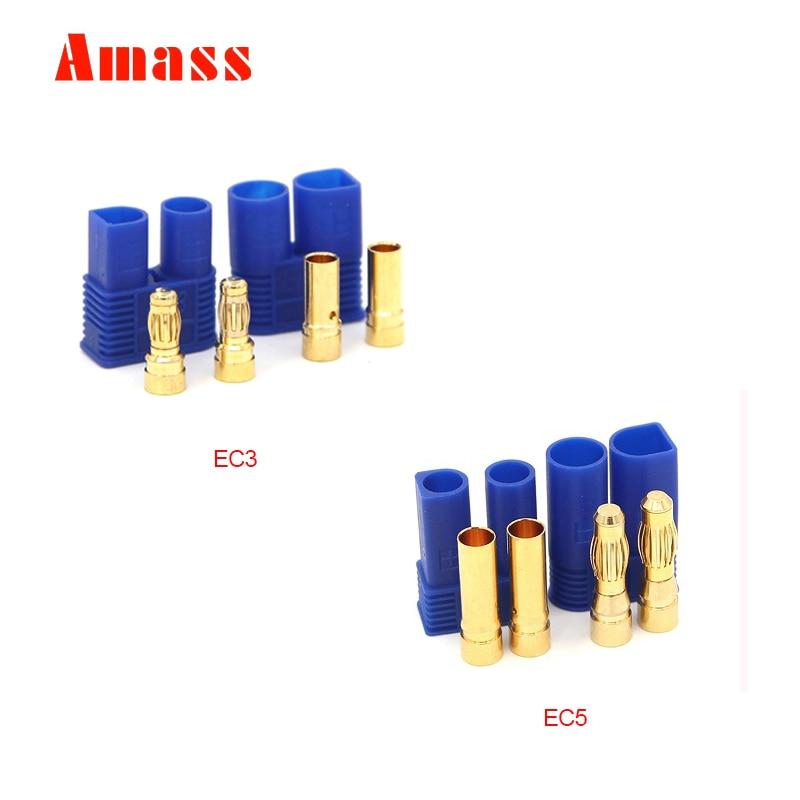 14 Pair Closed Screw Speaker Wire Banana Plugs Audio Gold Connectors 28pcs