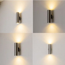10W UP Down Outdoor LED Wall Light Waterproof IP65 Modern Style Indoor Wall Lamps Sconce Decoration Light AC90-260V