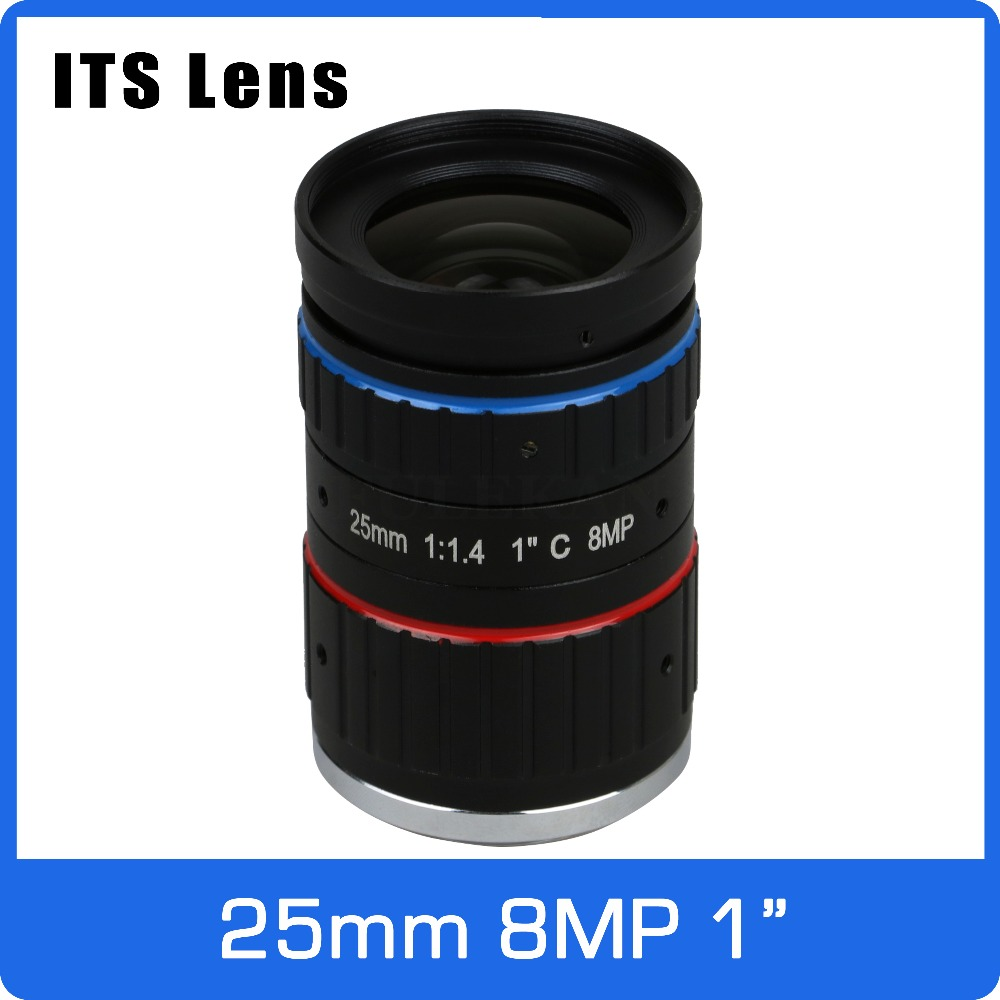 1 inch 8MP ITS Lens 25mm  Ultra Starlight F1.4 C Mount For Electronic Police or Traffic Camera1 inch 8MP ITS Lens 25mm  Ultra Starlight F1.4 C Mount For Electronic Police or Traffic Camera