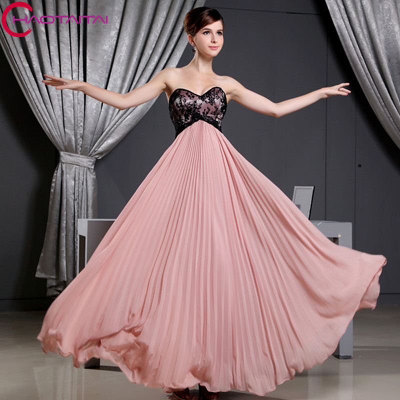 Beach Party Gowns Formal Dress Sweetheart Neck Ankle Length Special