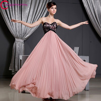 Beach Party Gowns Formal Dress Sweetheart Neck Ankle length Special Occasions Sexy Chiffon Prom Evening Dresses 2018