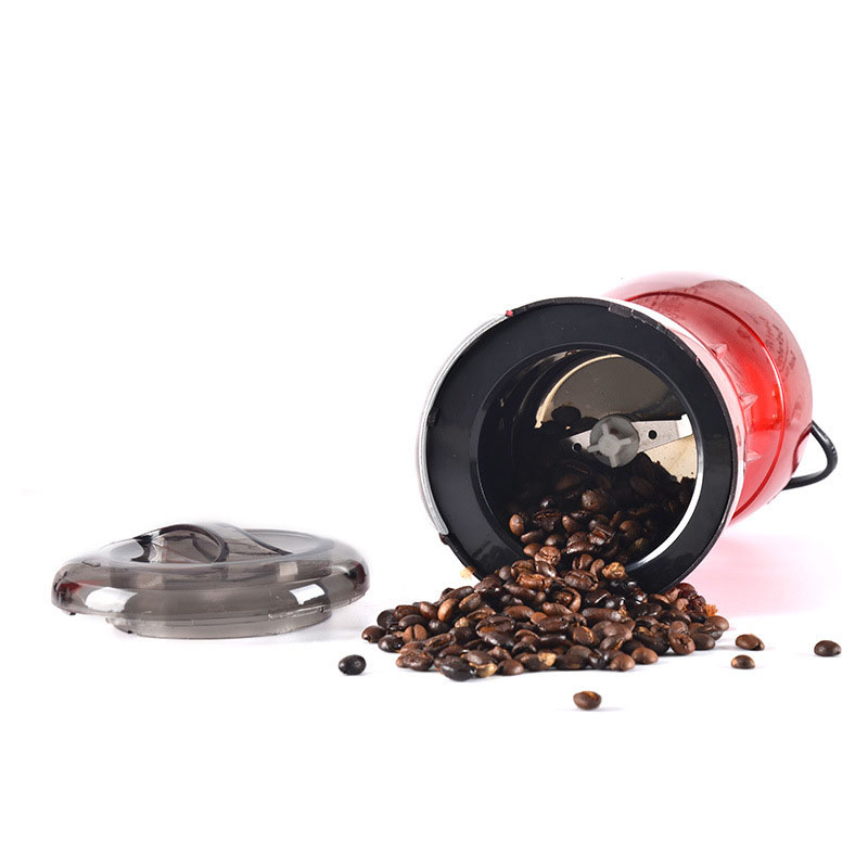 Coffee Bean Grinder Electric Grain Grinder Household Mill Stainless Steel Blade Sesame Medicine Powder Machine in Electric Coffee Grinders from Home Appliances