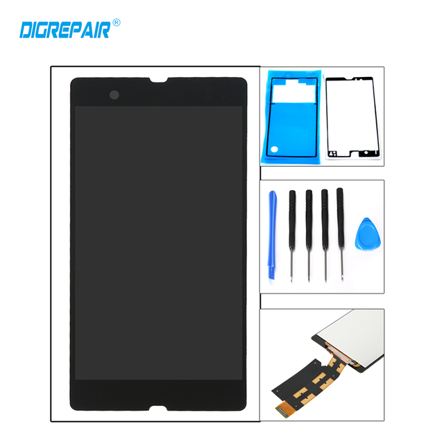 """5"""" Black For Sony Xperia Z L36h L36i C6606 C6603 C6602 C6601 LCD Display touch screen digitizer Full Assembly replacement+tools"""