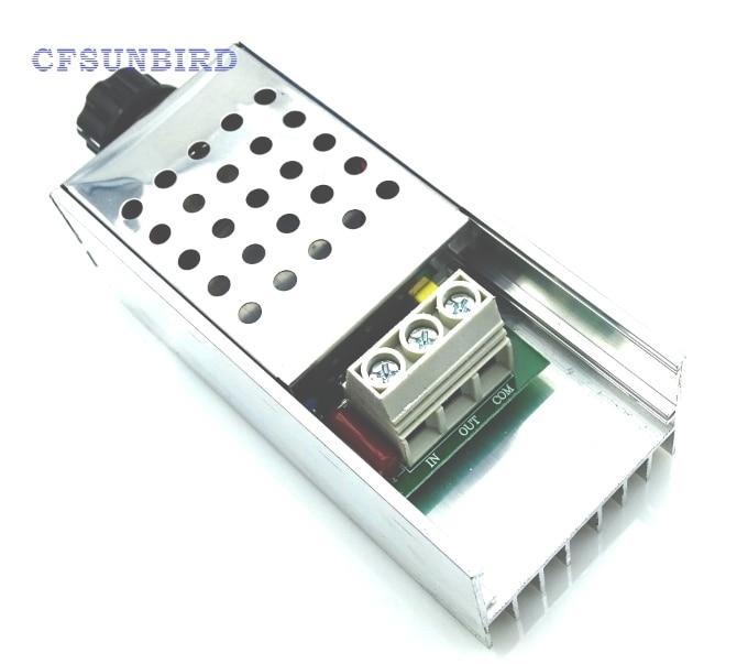 2pcs110v 220V 10000W SCR Voltage Regulator Motor Speed Controller Dimmer Thermo 2 w p w v p10000 10000 waka ddc12