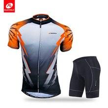 все цены на Nuckily  summer cycling jersey and short manufacture custom design set for men  NJ500NS361 онлайн