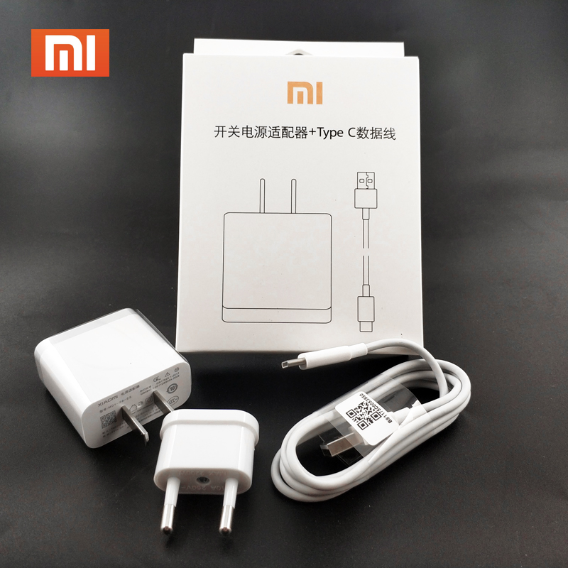 Mobile Phone Chargers Mobile Phone Accessories Original Xiaomi Fast Charger Quick Charge 3.0 Adapter Usb 3.1 Type C Cable For Xiaomi Mi 9 8 Se 6 6x A1 Mix 2 2s 5 Max 2 Note 3