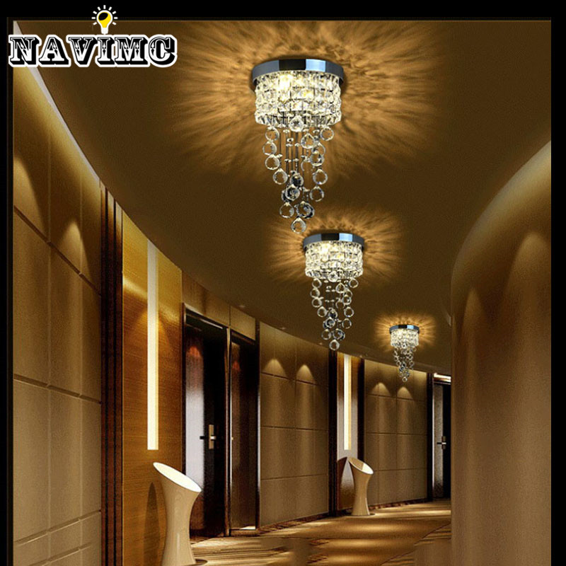Modern Led Small Crystal Chandelier Lighting Ceiling Lamp for ...
