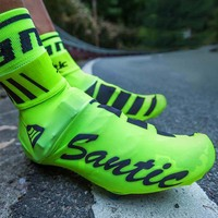 Santic Spring Summer Dustproof Breathable Cycling Shoe Cover Mountain Road Bike Shoes Cover Protector Cycling Overshoes