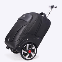 1820 inch cabin Lazy suitcase school backpacks on wheels carry on luggage bag boarding tracvel bags Trolley case laptop bag