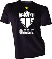 Clube atletico miniro Brasil Futebol Futbol Футбольная Футболка Camisa Джерси унисекс