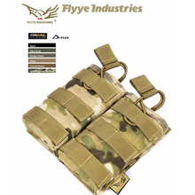 Genuine FLYYE MOLLE EV Universal Double Mag Pouch In stock Military camping modular combat CORDURA M024 in stock flyye genuine molle micro single lens camera bag cordura bg g033