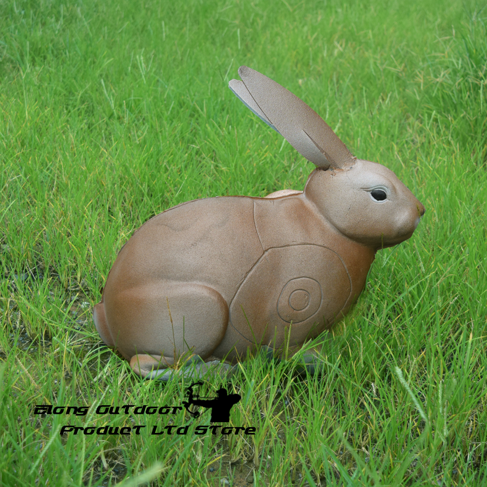1X Archery 3D Target Rabbit XPE High Density Self Healing Foam Animal Shooting Practice Archery Bow