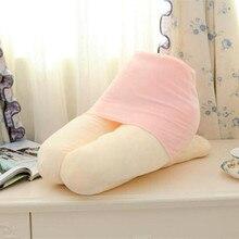 Simulation Human Thigh Plush Pillow Sex Furniture Personalized Birthday Gift Adu