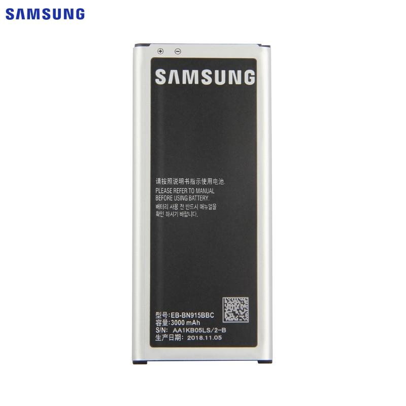 SAMSUNG Original Battery EB BN915BBE For Samsung GALAXY Note Edge N9150 N915K N915L N915FY N915D N915F N915S G9006V SM N915G NFC