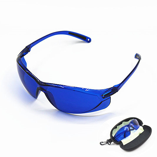 цена IPL glasses for IPL Beauty operator safety Protective E light red Laser hoton Color light Safety goggles 200--1200nm