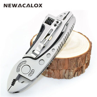 Outdoor Multitool Pliers Pocket Knife Screwdriver Set Kit Adjustable Wrench Jaw Spanner Repair Survival Hand Multi