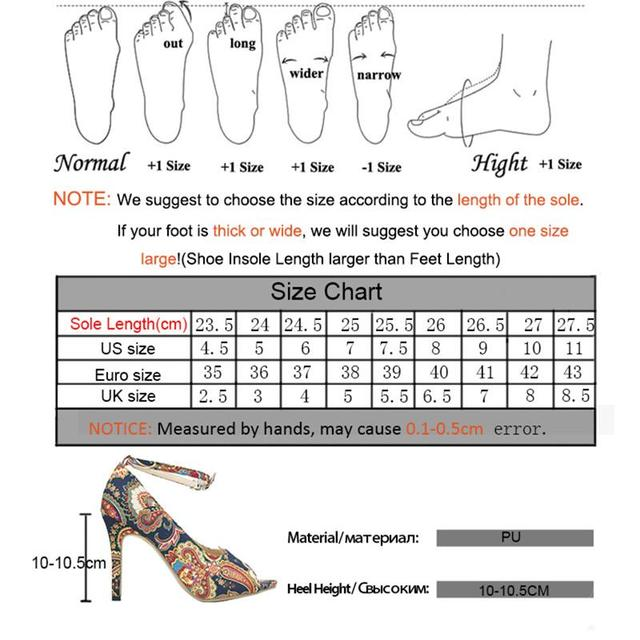 DAHOOD Womens Summer Sandals Sexy Exquisite High Heels Ladies Increased Stiletto Super Peep Toe Sandals Ankle Strap Ladies Pumps