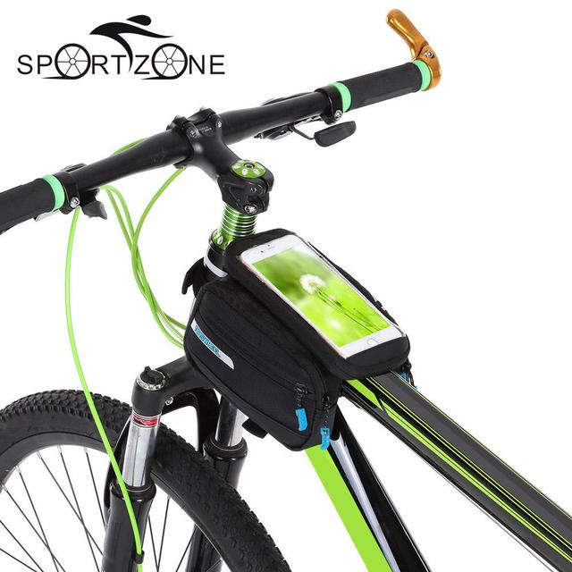Roswheel Waterproof Cycling Bags Bike Front Frame Bag Tube Pannier