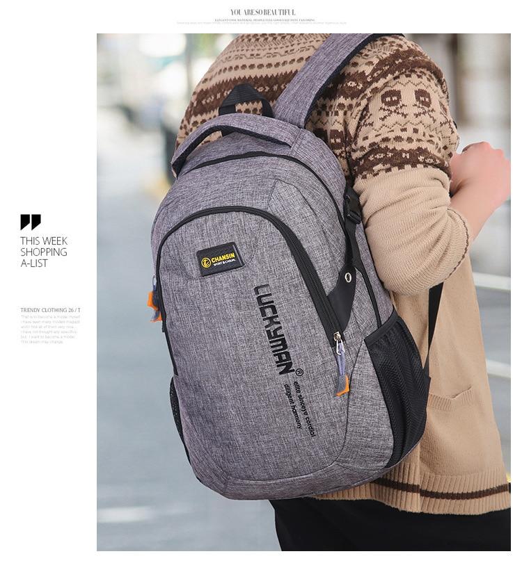 men school backpack