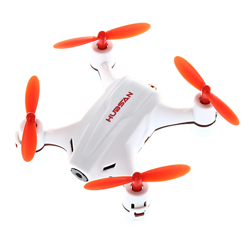 <font><b>HUBSAN</b></font> <font><b>H002</b></font> 0.3MP 2.4GHz 4CH 6 Axis Gyro Nano Brushed RC Quadcopter with Headless Mode image